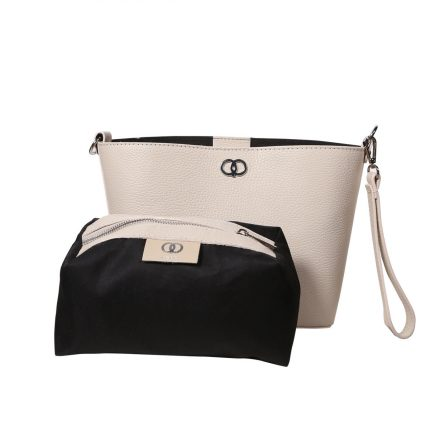 ATENA - SMALL BUCKET BAG WITH INSIDE ZIP BAG